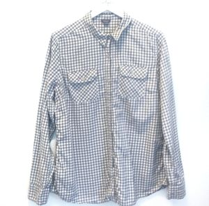 Eddie Bauer Men's Casual Button Down Shirt Tall XL
